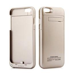 Ingrosso Per iphone 8 Plus Batteria esterna Backup Power Bank Caricatore Custodia Custodia Powerbank per iPhone 7 6 6s Plus 4.7