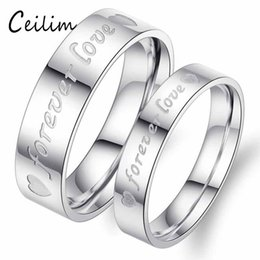 6802d21afd Romantic New Fashion Minimalist Silver Plated Rings Wedding Love Forever  Commitment Couple Ring Heart Lovers Jewelry Gifts Wholesale