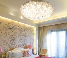 Minimalist Modern Garden Room Bedroom Living Ceiling Lamp Romantic Flower Book Circular Creative LED Light MYY