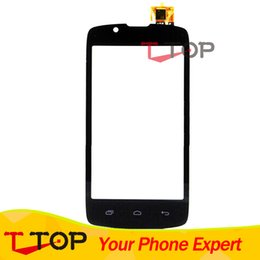 Wholesale Touch Screen For Fly IQ4490 ERA Nano IQ Front Glass Touch Panel Digitizer Black Color PC