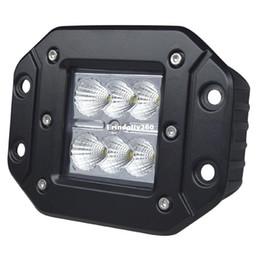 $enCountryForm.capitalKeyWord NZ - 18W IP67 Waterproof LED Work Light Lamp 6 LEDs Fog Headlight for Jeep SUV ATV OffRoad Car DC10-30V Spot Flood