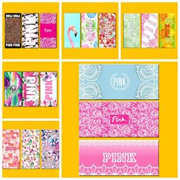 33 designs 3575cm pink letter beach towel flamingo pink bathroom towels vs leopard beach towel fitness sports rectangle towel cca6287 50pcs