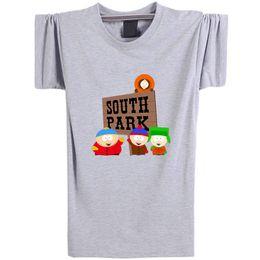 b3614e0f0 South Park Shirts Canada - South park T shirt Funny role short sleeve  Cartoon tees Leisure