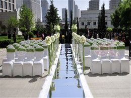 $enCountryForm.capitalKeyWord Canada - 10m Per lot 1m Wide Shine Silver Mirror Carpet Aisle Runner For Wedding Party Centerpieces Decorations 2017 New Arrival