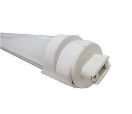 Fluorescent Light Bulbs T8 UK - R17D LED Tubes 8FT T8 FA8 LED Tube Light 8 FT 8Feet 45W Single Pin 4500LM Fluorescent Light Fixtures 2.4M Bulbs Lamp