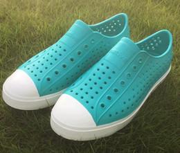 21Colors Women Native Jefferson Shoes Sandals 2017 Fashion Lovers Hole Shoe  Brand Flat Casual Native Summer Shoes size 35-44 3f596842d50d