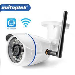 Outdoor Wireless Wifi Ip Camera Hd Canada - HD 720P 960P WIFI IP Camera 1080P Outdoor Wireless Surveillance Home Security Camera Onvif CCTV Camera TF Card Slot App CamHi