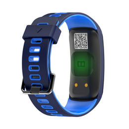 Surveillance De La Pression Artérielle Vente Pas Cher-GPS Trajectoire de mouvement F4 Professional Smart Fitness Bracelet IP68 Waterproof Blood Heart Rate Monitor Bigger Storage Smart Band à vendre