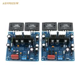 Freeshipping 2PCS MX50 SE LAPT 2SA1295 2SC3264 Power Amplifier board Dual Channel power amp