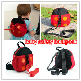 $enCountryForm.capitalKeyWord UK - Baby Kid Keeper Toddler Safety belt anti-lost backpack cute Ladybird Kids Safety bag Harness Strap Backpack kid358