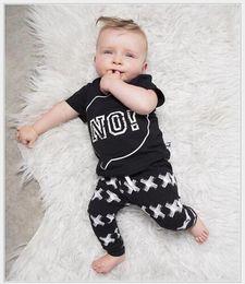 $enCountryForm.capitalKeyWord Canada - 2017 New Summer Boys Clothing Sets Baby Boy Short Sleeve T-shirt+Pants 2pcs Set Kids Casual Suit Children Cotton Sportswear Child Outfits