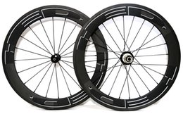 wheel set bike UK - Urltra-Light 451 Full carbon 50mm depth Folding bike wheelset 20inch bicycle clincher 21mm width carbon wheels with powerway R36 hub