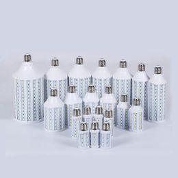 China LED Corn Light Lamp E27 B22 E14 5050SMD 5W 7W 10W 15W 18W 24W 30W Bulb 110V 220V Super Brigh 360 Angle Warm Pure White Led Lights supplier 15w corn light suppliers