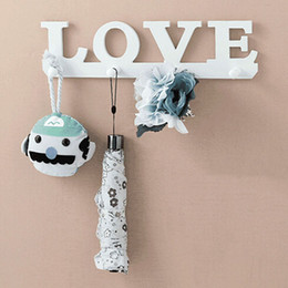 love clothes hangers 1 pcs creative door decoration 4 hooks clothes bag wall rack hat keyhole jacket bathroom hanging decorations