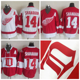 Detroit Red Wings Brendan Shanahan Hockey Jersey 14 Brendan Shanahan CCM  Vintage 2014 Winter Classic Alumni Jerseys Cheap A Patch discount brendan  shanahan ... 06dd72635