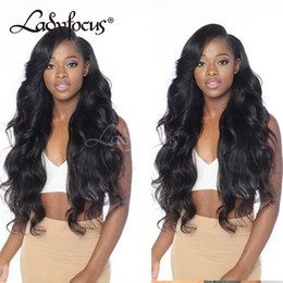 $enCountryForm.capitalKeyWord Australia - 8A Full Lace Human Hair Wigs With Baby Hair 130% Density 100% Brazilian Virgin Hair Body Wave Lace Front Wigs For Black Women