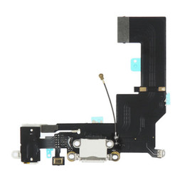 $enCountryForm.capitalKeyWord Canada - Original Micro USB Charging Charger Port Flex Cable Ribbon Replacement Repair For iPhone SE white and black