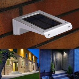 wholesale 20 led solar lamps human body motion sensor ray garden home security outdoor wall light waterproof lighting security lights