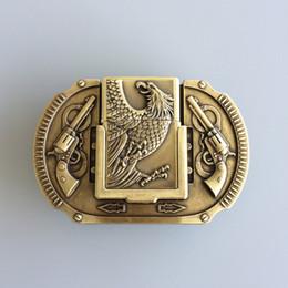 Men Belt Buckle New New Vintage Bronze Plated Eagle Guns Lighter Belt  Buckle Gurtelschnalle Boucle de ceinture BUCKLE-LT013 Brand New a216154bc95