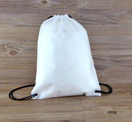 $enCountryForm.capitalKeyWord Canada - 10pcs New Drawstring Non-woven fabric Tote bags waterproof Backpack folding bags Marketing Promotion drawstring shoulder bag shopping bags