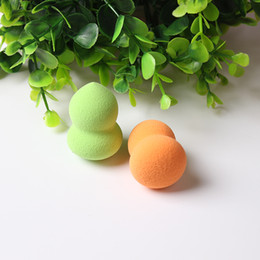 Barato Ferramentas De Maquiagem-Fashion Gourd Shape Makeup Sponge Blender Flawless Smooth Powder Misturando Foundation Lmooth Beauty Make Up Puff Blending Tools Atacado