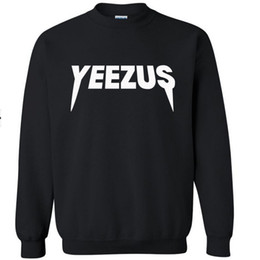 $enCountryForm.capitalKeyWord Canada - New kanye west hoodie mens sweatshirts hoodies men Autumn winter The long sleeve yeezus hoodie Cotton tracksuit men sportswear