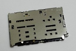 $enCountryForm.capitalKeyWord UK - For LG K500 K500N X Screen Original SIM + Memory Card Reader SIM Memory Card Socket SIM Card Slot Replacement Free shipping