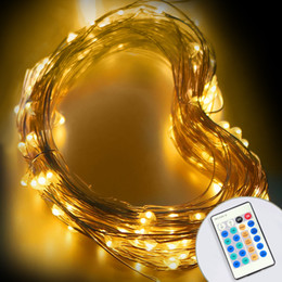 $enCountryForm.capitalKeyWord NZ - LED String Light 10M Copper Wire Fairy Light Outdoor Holiday Light DC 12V For Party Wedding Decoration With Remote Control