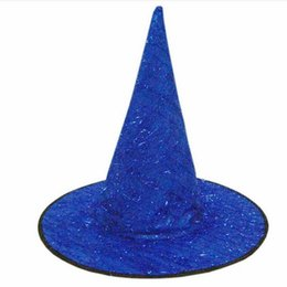 $enCountryForm.capitalKeyWord Australia - Adult Women Men Witch Hat Stage Performance Party Hats Halloween Costume Accessory Party Cosplay Props