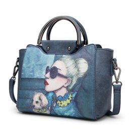 Sh Fashion UK - Brand messenger bag joker inclined shoulder bag European and American women handbag fashion and personality Atmospheric contracted single sh