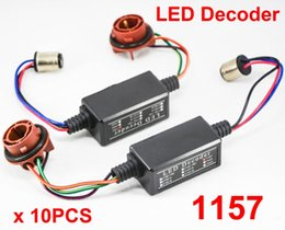 Flash decoder online shopping - 10x A B Contact Hi Power LED Bulb Error Free Canbus Canceler Adapter Decoder Fog Turn Brake Anti Hyper Flash Blinking