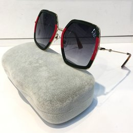 SunglaSSeS lenS quality online shopping - Fashion Luxury Women Designer Sunglasses Square Big Frame Summer generous Style Mixed Color Frame Top Quality UV Protection Lens S