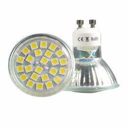 Chinese  LED Spot Light Bulb 4.8W GU10 MR16 E14 E27 B22 Warm White or Daylight Lamps Ultra Low Energy manufacturers