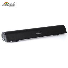 $enCountryForm.capitalKeyWord Canada - SunnyLink Wireless Mini Bluetooth Sound bar Speaker Stereo HiFi computer Soundbar speaker With Bluetooth+USB Audio+AUX Built-in Subwoofer