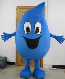 blue water drop mascot costume Australia - brand new blue water drop mascot costume for adult red waterdrop blood mascot suit for sell free shipping