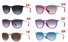 Discount pc free - summer BRAND NEW man Outdoor driving glasses woman fashion beach sunglasses 11colors metal Black glasses A++ sunglasses