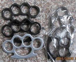 $enCountryForm.capitalKeyWord UK - Steel Brass knuckle dusters,Self Defense Personal Security Women's and Men's self-defense Pendant Black silver Gold Free