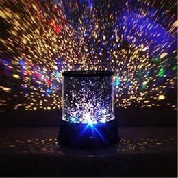 bedding side 2019 - New Arrival Amazing LED Star Master Colorful Starry Night Cosmos Projector Bed Side Lamp Master Light Star Projector Led