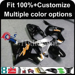 injection honda cbr954rr fairing Canada - 23colors+8Gifts Injection mold black motorcycle cowl for HONDA CBR954RR 2002-2003 CBR954 RR 02 03 ABS Plastic Fairing