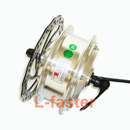 Motor Bicycles Australia - 36V 48V 250W Electric Bicycle Motor With Quick Release Brushless Hub Motor Use Brake Disc Rotor DIY Electric Bike Hub Motor Part