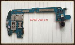 16gb Motherboard NZ - 100%Working~Unlock Original 16GB Motherboard For Samsung Galaxy SIII Neo+ version I9300i Dual sim Clean IMEI free shipping