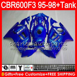 $enCountryForm.capitalKeyWord Canada - gloss blue 8 Gifts 23 Colors For HONDA CBR600F3 95 96 97 98 CBR600RR FS 2HM13 CBR600 F3 600F3 CBR 600 F3 1995 1996 1997 1998 blue Fairing