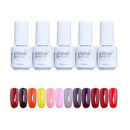 Colores De Uñas De Gel Baratos-168 colores GelPolish empapa del gel de uñas ULTRAVIOLETA del LED Gelish para el gel del arte del clavo 5ml DIY laca colorida ZA2524 del clavo