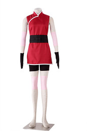 Wholesale naruto sakura cosplay costume for sale - Group buy Naruto Haruno Sakura Women s Cosplay Costume