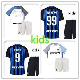 f345695ec ... new 2017 inter home away children soccer jersey 17 18 young palacio  icardi medel ever banea