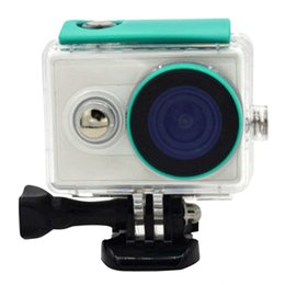 $enCountryForm.capitalKeyWord Canada - Wholesale- Diving 40m Underwater Waterproof Protective Housing Case for Xiaomi Xiaoyi Yi Action Sport Camera High Quality # F3063