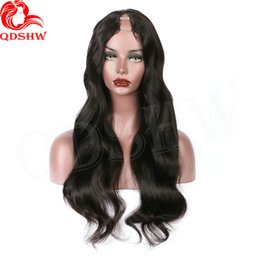 upart human hair wig curly 2019 - Brazilian u Part Wig Loose Wave Human Hair Upart Wigs For Black Women Glueless Loose Curly u Part Brazilian Hair Wigs ch