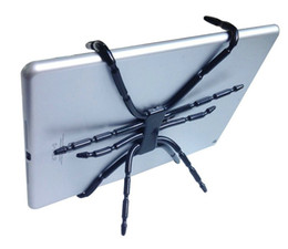 Toptan satış Sıcak Satış Evrensel Örümcek tablet tutucu için ipad Pro Hava Mini Kindle Yangın Viewpad Dell Streak Samsung Tab S S2