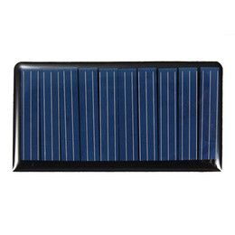 5v mini solar panel UK - Mising 68*37*3mm 5V 0.3W 60mA DIY Mini Solar Epoxy Resin Plate Cell Battery Solar Panel Power Charger