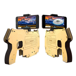 $enCountryForm.capitalKeyWord Canada - Portable AR Gun For 3D Augmented Reality Gaming Gun Smartphone Shooting Games DIY Toy Gun for Android iOS Phones Smart Phone